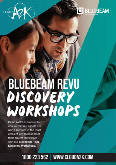 BLUEBEAM REVU - DISCOVERY WORKSHOPS