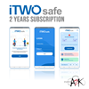 itwosafe smart distancing app